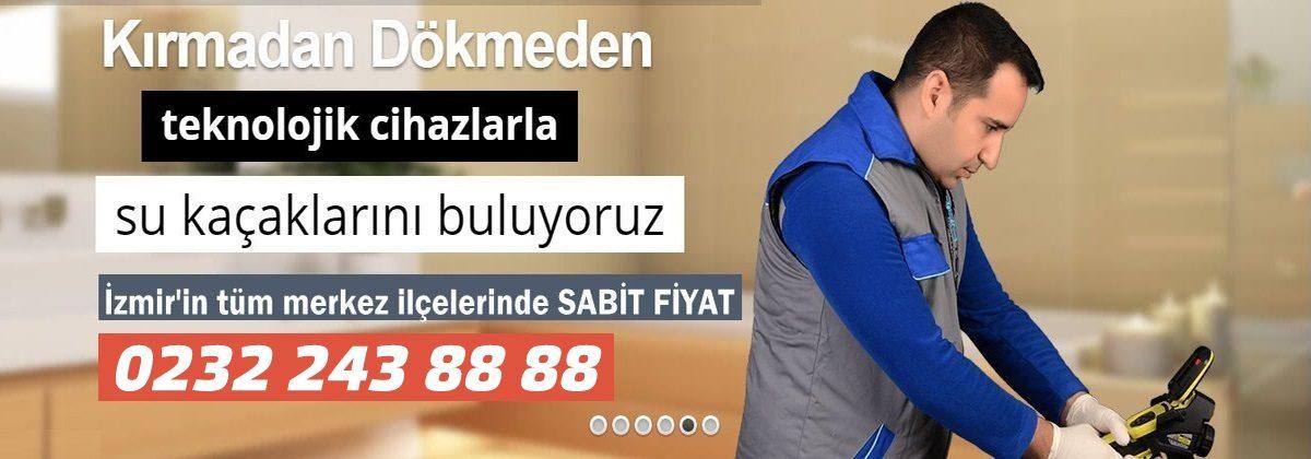 İzmir Su Kaçakları,Su Kaçağı Tespiti